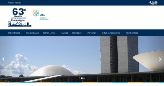 63° congresso brasileiro de Anestesiologia